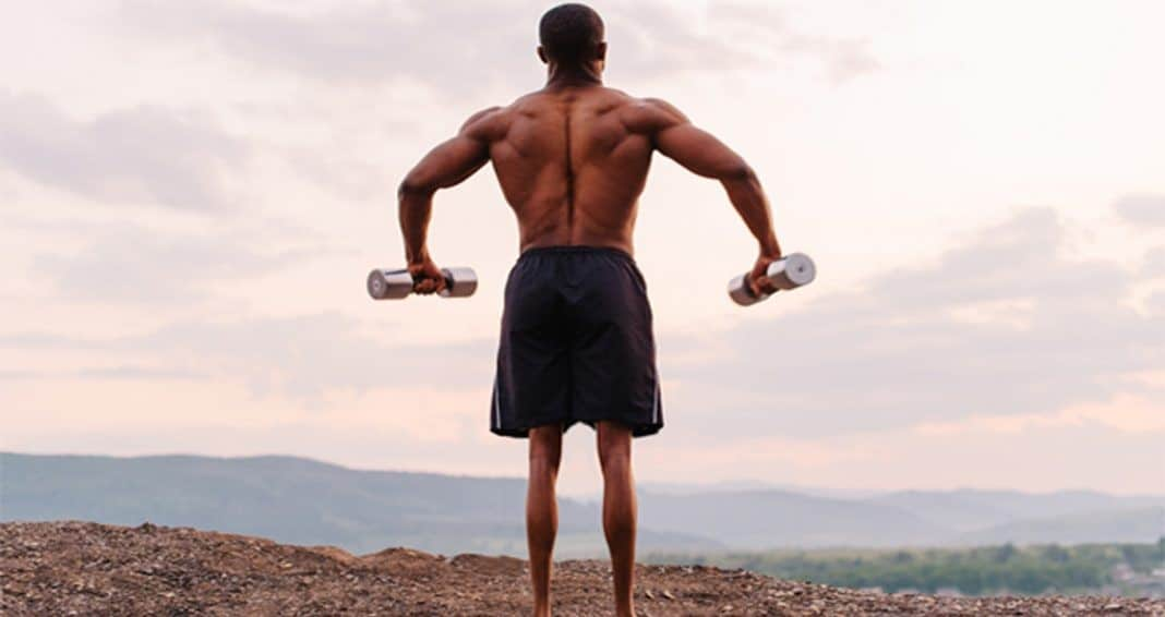rening za mišično rast zgornjega dela telesa