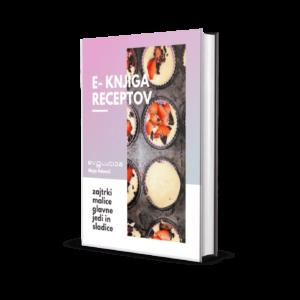 """E-knjiga receptov """"Malo po svoje"""""""