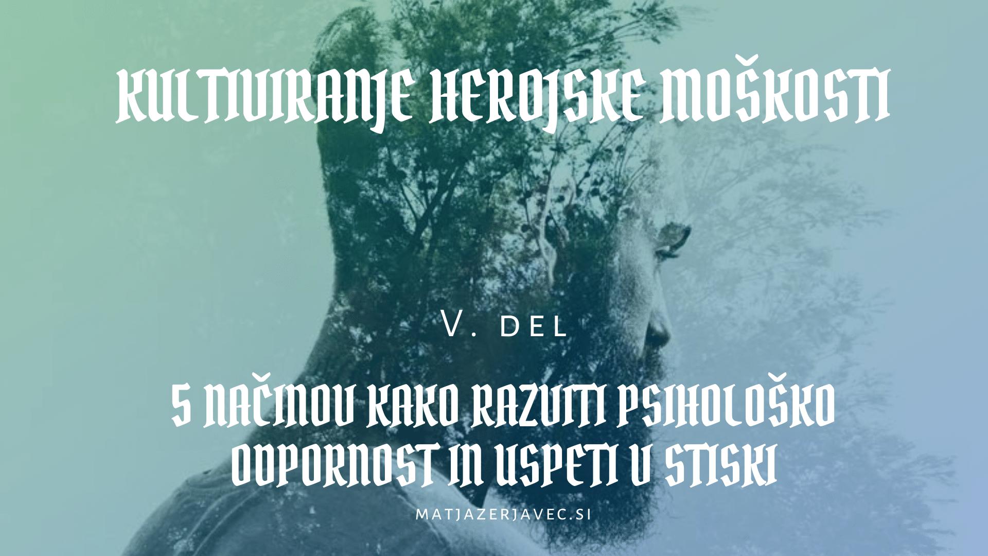 Read more about the article 5 načinov, kako razviti odpornost in premagati stisko