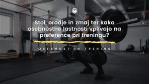 trening in osebnostne lastnosti